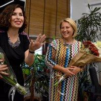 Дамы с цветами :: Марина Семенкова