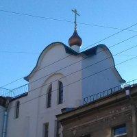 Староверческая церковь на Транспортном пер..(С.- Петербург). :: Светлана Калмыкова