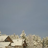 зимние крыши :: Р о м a н