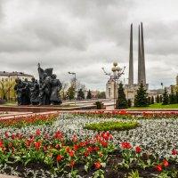 Площадь победы в Витебске :: Ирина Никифорова