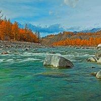 Изумрудная вода реки :: Анатолий Иргл