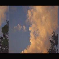 Облако похожее на старушку в чепце. :: Елена Kазак