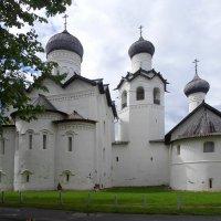 Старорусский Спасо-Преображенский мужской монастырь :: Елена Павлова (Смолова)