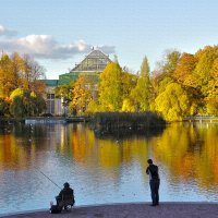 осень в парке :: юрий карпов