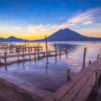 Озеро Атитлан, Гватемала. :: Ксения Исакова