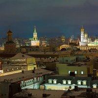 ночная Москва :: Юрий Лобачев
