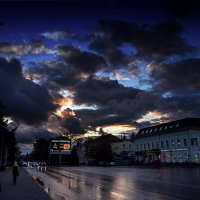 Последние отблески заката :: Виталий Павлов