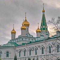 Афонская церковь  ( вид со стороны кладбища ) :: Олег Попков
