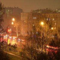 осенний дождь :: Евгений Фролов