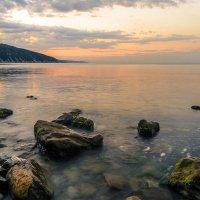Рассвет на море. :: Олег Бабурин