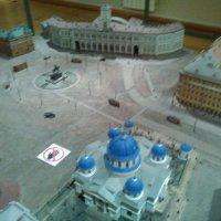 Макет Знаменской площади, а ныне площади Восстания в Петербурге. :: Светлана Калмыкова