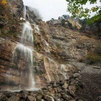 Водопад Учан-Су в октябре :: Николай Ковтун