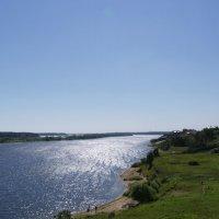 Волга (по течению) :: Анна Воробьева