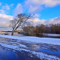 Зимние ветры дуют над Лугом* :: Дубовцев Евгений