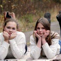 Милашки Алина и Дарья :: Виктория