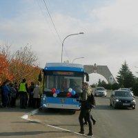 У Арки 200-летия Севастополя :: Александр Рыжов