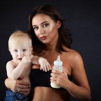С младенцем :: Ольга Князева