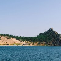 Песчанка_вид с воды :: Владимир Гришин