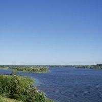 река Волга :: Анна Воробьева