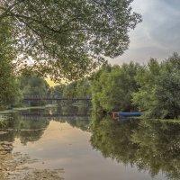 Утро на реке Трубеж :: Сергей Цветков