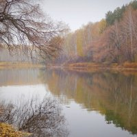 Упивается от неги тишиной своей река... :: Елена Ярова