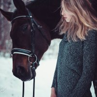 Девочка и ее конь Виллиафудалитьредактировать :: Кристина Пролыгина