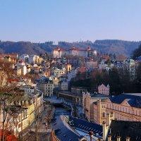 Панорама старого города- Карловы Вары :: Андрей