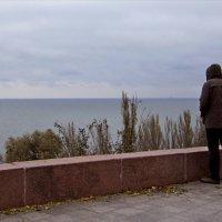 Серое море, серое небо... :: Людмила