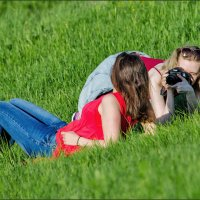 Вот как оказывается девченки шедевры делают. :: Сергей l