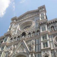 Кафедральный собор Санта Мария дель Фьоре - Фасад собора :: Елена Павлова (Смолова)