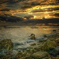 На пустынном берегу... :: Александр Бойко