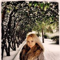 Красивая блондинка или зима в Сочи 2012 :: Натали Пам