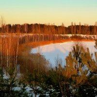 озеро за городом :: Александр Прокудин