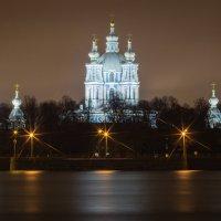 Смольный собор в ноябре :: Iuliia Efremova