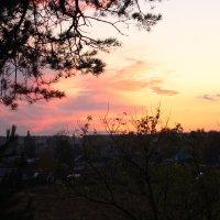 Осени закат багряный... :: Валерий Скобкарёв