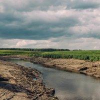 Обмелевшая река. :: Evgenija Enot