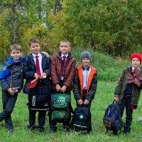 Выпускные альбом начальной школы :: Дмитрий Конев