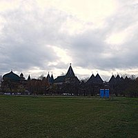 Начало ноября. Вид на дворец Алексея Михайловича в Коломенском. :: Владимир Драгунский