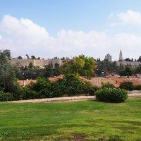 Вид на стены Старого города и монастырь Дор-ми-Цион :: Alla S.