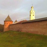 Новгородский кремль :: Марина Домосилецкая