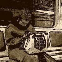 Серия. Женщины в метро :: Юрий Журавлев