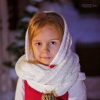 Зимняя сказка Марины :: Кристина Беляева