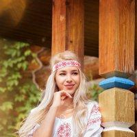 Русская красавица Алена :: Фотохудожник Наталья Смирнова