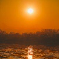 Красивый закат :: Юрий Лобачев