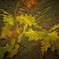 Хоть золотятся листья на заре, но город мой из грустных нитей соткан... :: Tatiana Markova