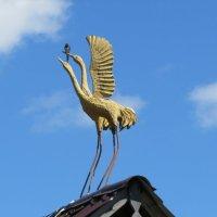 Журавли на крыше :: Вера Щукина