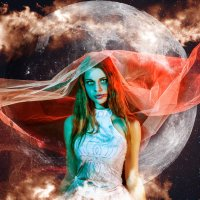 Невеста кровавой луны... :: Вячеслав Владимирович