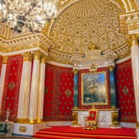 Петровский (Малый тронный) зал Зимнего дворца :: sorovey Sol