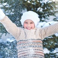 С первым снегом! :: Марина Кузьмина