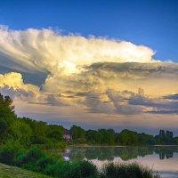 утренние облака :: юрий иванов